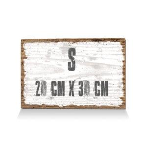 S (20cmx30cm)